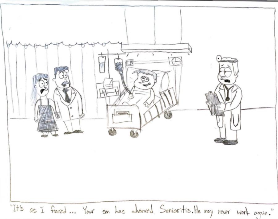 Senioritis Cartoon