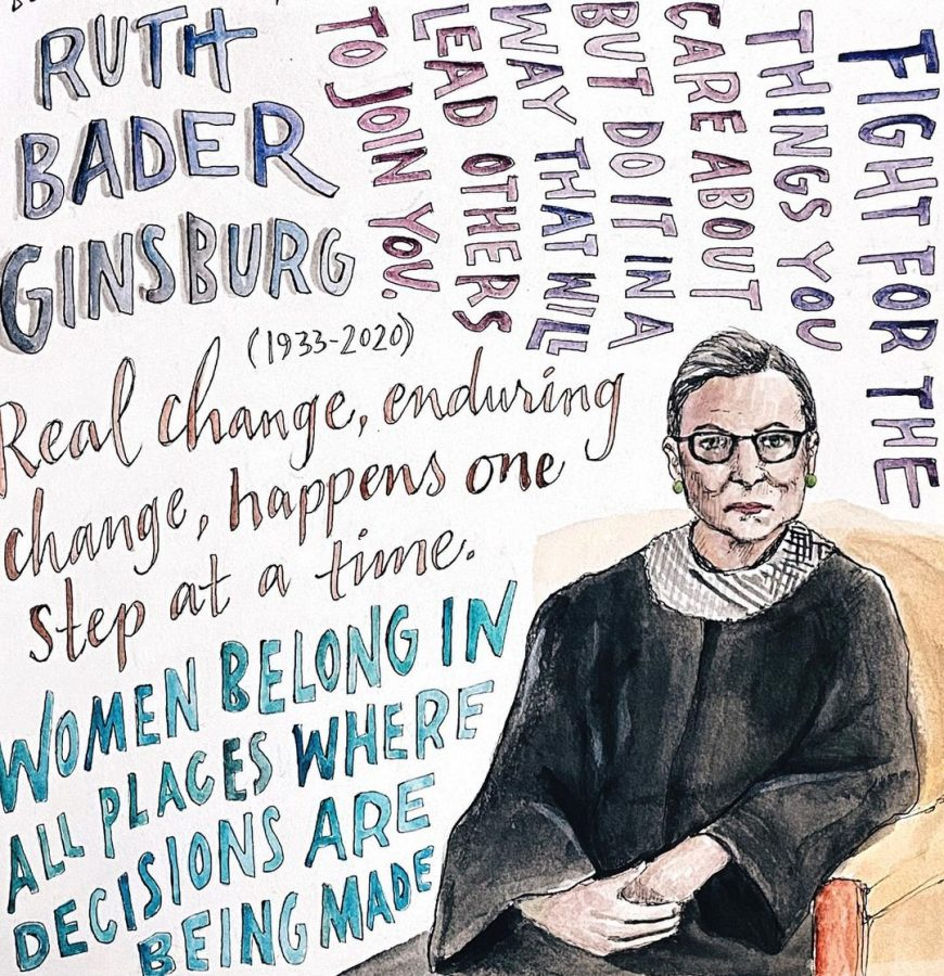 Supreme+Court+Justice+Ruth+Bader+Ginsburg+passes+away+on+September+18%2C+2020.+