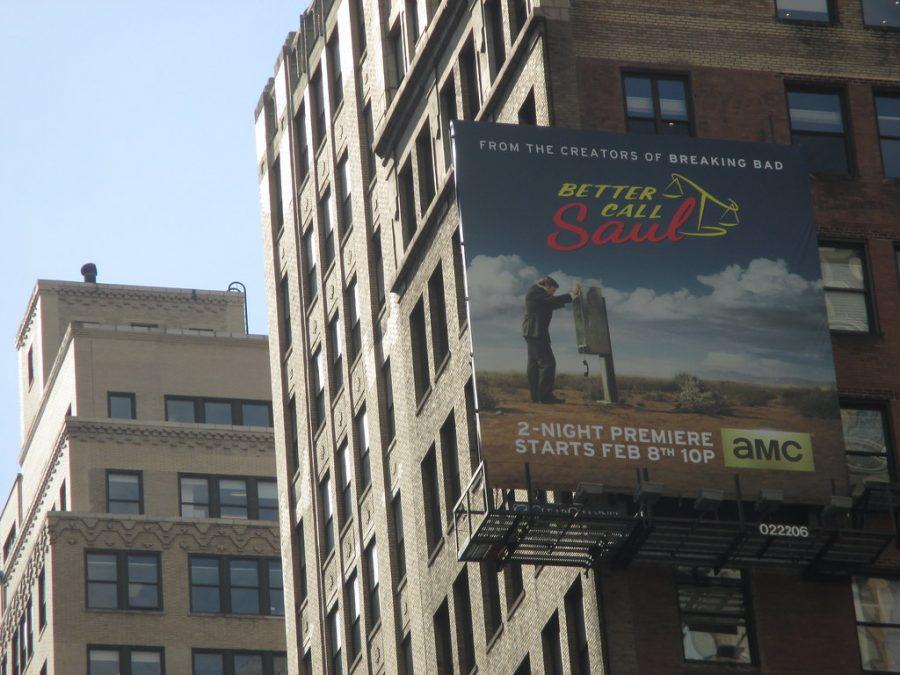 Better Call Saul Billboard in New York City