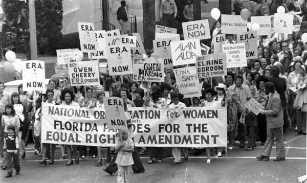 The Equal Rights Amendment: It's A Near 100 Year Battle to Be Ratified